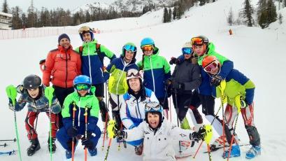 L'équipe compétition 2020 de Marseille-Provence à VarsSki-Team