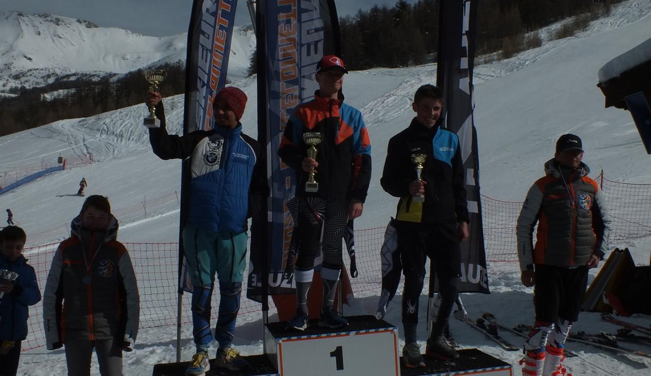 Grand prix de Marseille Provence Ski Team au Sauze