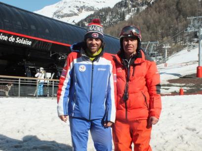 Rémi Ferrandino et Raymond Faget, entraineurs