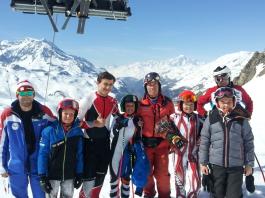 Stage d'été à Val d'Isère 2018 Marseille Provence Ski Team