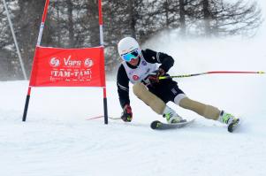 Gabriel Mambrini en Slalom Géant