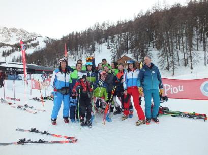 Les moniteurs de Provence Ski Team à Vars